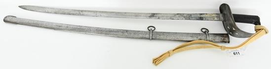 British 1885 pattern Cavalry Troopers Sword