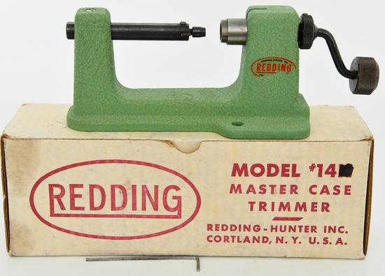 Vintage Redding Master Case Trimmer #14