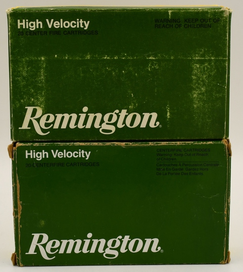 40 Rounds Of Remington .270 Win Ammunition