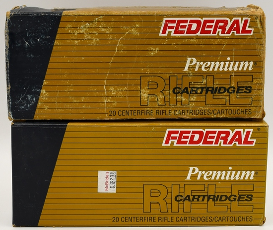 23 Rounds Federal Vital-Shok .338 Win Mag Ammo