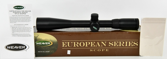Weaver European Series 6-24x42mm Riflescope