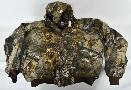 Berne Outdoor Camo Hunting Jacket New With Tags