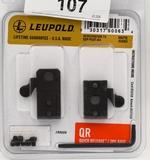 Leupold 2-Piece Quick Release Base Mount NIP
