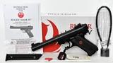 NEW Ruger Mark IV Target Semi Auto Pistol .22 LR