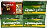 66 rds of various .270 win ammunition