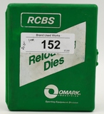2 RCBS Full length Reloading Dies For .270 WBY Mag