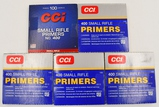 500 Count Of CCI Small Rifle Primers