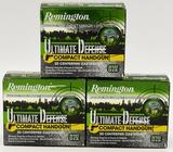 60 Rounds Remington Ultimate Defense .380 Auto