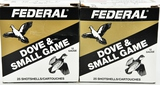 50 rds Federal 12 Ga Dove and small Game Shotshels