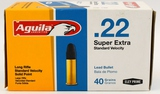 500 Rounds Of Aguila .22 LR Standard Velocity Ammo