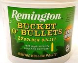 1400 Rounds Remington Bucket of .22 LR High