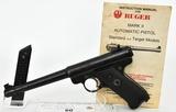 Ruger Pre Mark I Standard Target Semi Auto Pistol