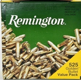 525 Rounds Of Remington .22 LR Golden Bullets