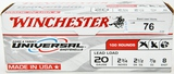 100 rds 20 gauge Winchester shotshells Game/Targt