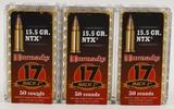 150 Rounds Of Hornady .17 HMR Mach 2 Ammo