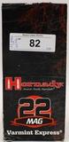 500 Rounds Of Hornady .22 Magnum Ammunition