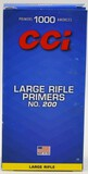 1000 Count of CCI Large Rifle #200 Primers