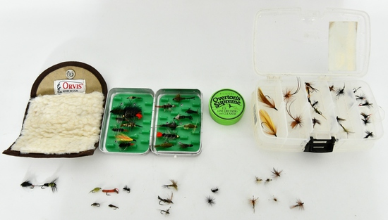 Lot of Various Fly Fishing Accessories & Tackle