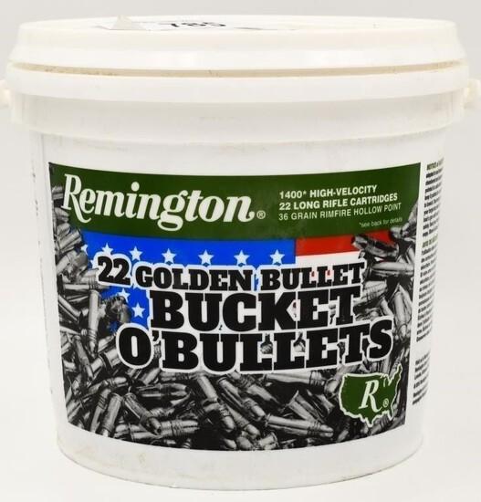 1400 Rounds Remington Bucket of .22 LR Ammo