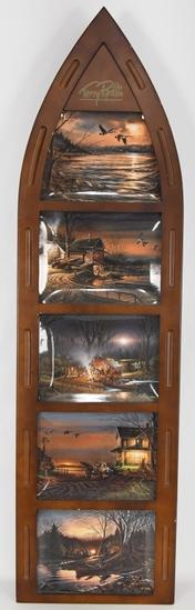 Terry Redlin's Decorative Boat Shape Frame &