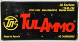50 Rounds of TulAmmo .30 Carbine Ammunition