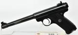 Ruger Mark I Target Semi Auto Pistol 6 7/8