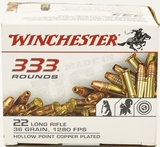 333 Rounds Of Winchester .22 LR Ammunition
