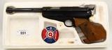 Feinwerkbau Model 65 Competition Air Pellet Pistol