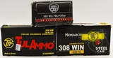 50 Rounds Of Various .308 Win Ammunition