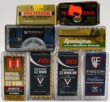 231 Rounds Of Various .22 WMR Ammunition