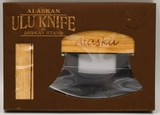 New In Box Alaskan Ulu Knife & Display Stand