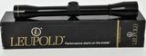 Leupold M8-4x Golden Ring Rifle Scope W/ Box