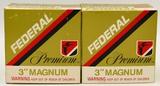 50 Rounds Of Federal Premium 12 Ga 3