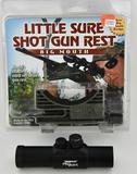 Little Sure Shotgun Rest & Tasco Pro Point Scope