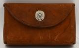 Vintage Handmade Leather Ammunition Pouch