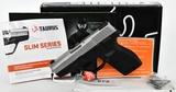 Taurus Model 709 Slim 9mm Concealed Carry Pistol