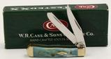 Case XX Tiny Trapper Sky Blue Folding Pocket Knife