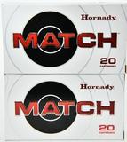 40 rds Match 6.5 creedmor 140 gr ELD ammo