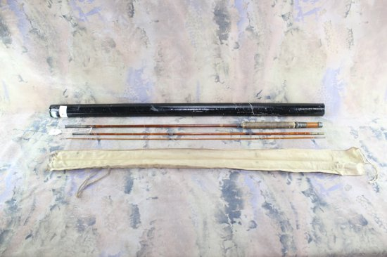 Montague Broad Brook split bamboo fly rod 3pc