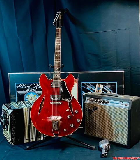 Vintage Guitar & Music Memorabilia Estate Auction