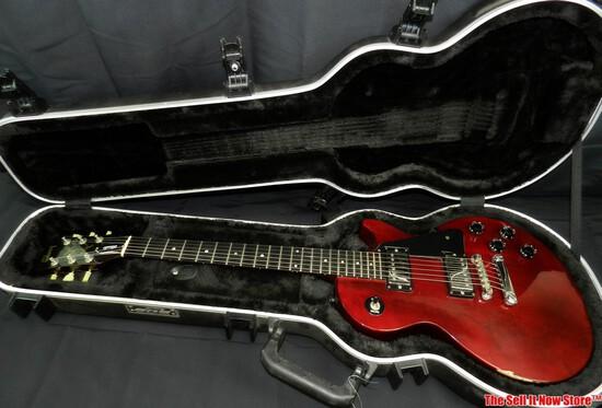 1990 Les Paul Studio Electric Guitar SKB Case SN 90030518