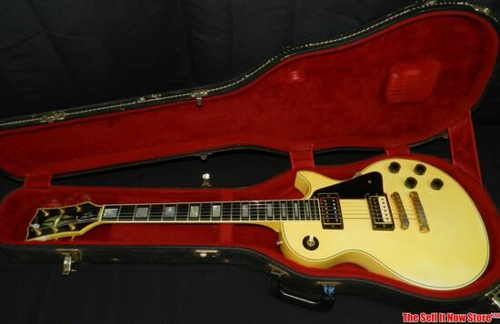 1981 Gibson Les Paul Custom Electric Guitar SN 81121506