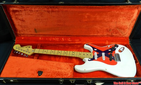 Early 1970s Fender Stratocaster Electric Guitar Original Case