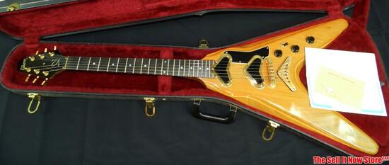 1980 Gibson Flying V II Electric Guitar Original Case SN 81080009