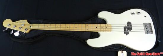1990s Fender Squire Ii Precision Bass Electric Guitar Sn 929406 Korea