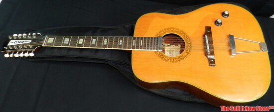 Vintage Eko Ranger XII Acoustic Electric Guitar SN 3727985