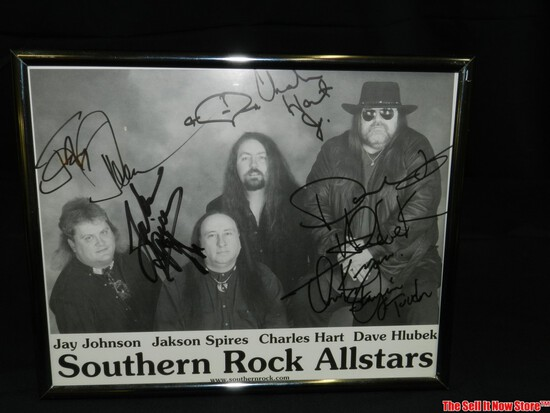 Southern Rock All Stars Singed Band Picture