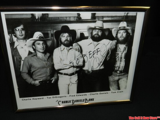 Charlie Daniels Band Signed Picture