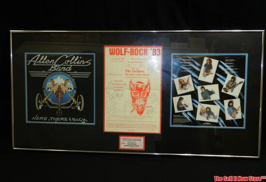 Wolf Rock 83 Signed Concert Poster