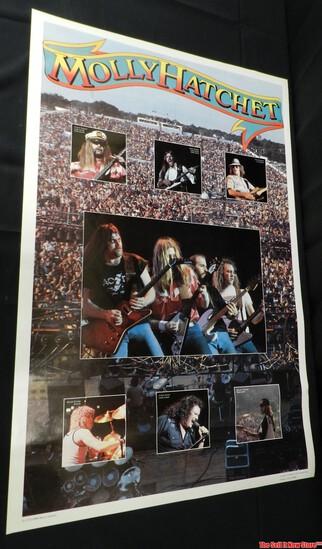 Molly Hatchett Band Concert Poster